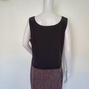 Dkny Dresses - DKNY Silk Blend Tweeted Sleeveless Dress 14